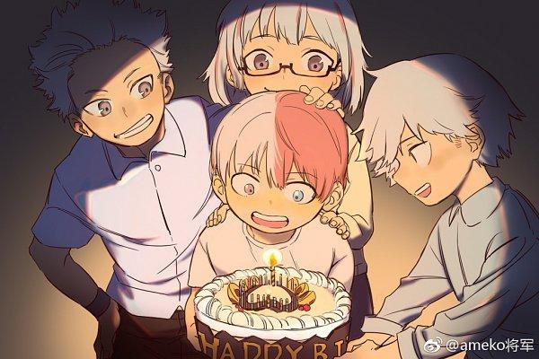 Tags: Anime, ameko (gyican), Boku no Hero Academia, Todoroki Fuyumi, Todoroki Shouto, Todoroki Toya, Todoroki Natsuo, My Hero Academia