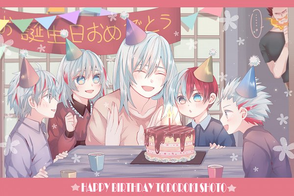 Tags: Anime, Mikan (Pixiv 603442), Boku no Hero Academia, Todoroki Rei, Todoroki Fuyumi, Todoroki Enji, Todoroki Toya, Todoroki Shouto, Todoroki Natsuo, My Hero Academia
