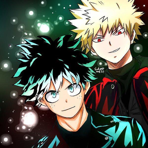 Tags: Anime, Pixiv Id 14688283, Boku no Hero Academia, Midoriya Izuku, Bakugou Katsuki, Pixiv, My Hero Academia