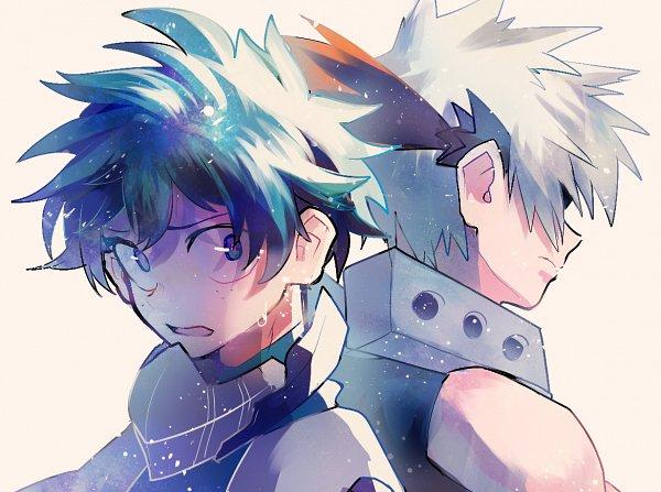 Tags: Anime, mebarunrun, Pixiv Id 53022163, Boku no Hero Academia, Bakugou Katsuki, Midoriya Izuku, Fanart From Pixiv, PNG Conversion, Pixiv, Fanart, KatsuDeku, My Hero Academia