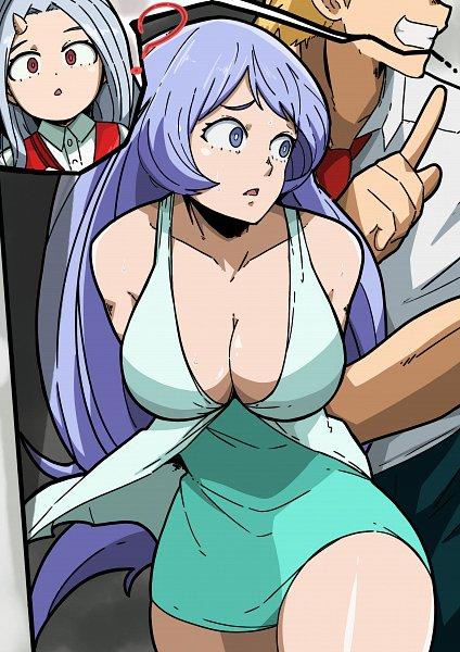 Tags: Anime, Pixiv Id 51212399, Boku no Hero Academia, Togata Mirio, Hadou Nejire, Eri (Boku no Hero Academia), My Hero Academia