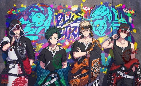 Tags: Anime, Pixiv Id 10897592, Boku no Hero Academia, Midoriya Izuku, Kirishima Eijirou, Todoroki Shouto, Bakugou Katsuki, My Hero Academia