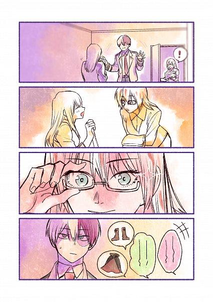 Tags: Anime, Sennen Suisei, Boku no Hero Academia, Todoroki Rei, Todoroki Fuyumi, Todoroki Shouto, Comic, Fanart, My Hero Academia