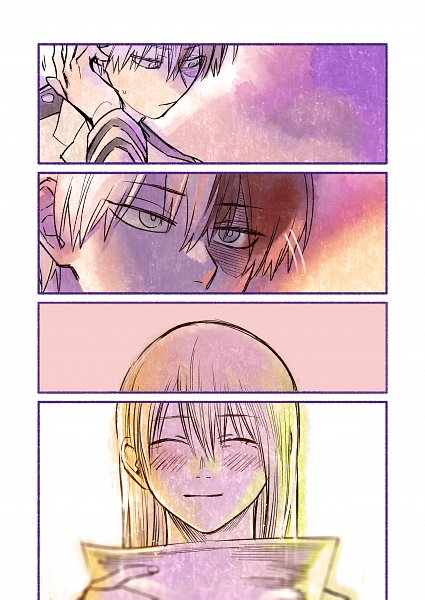 Tags: Anime, Sennen Suisei, Boku no Hero Academia, Todoroki Rei, Todoroki Shouto, Comic, Fanart, My Hero Academia