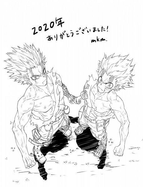 Tags: Anime, Pixiv Id 13513026, Boku no Hero Academia, Boku no Hero Academia: Heroes Rising, Bakugou Katsuki, Midoriya Izuku, Sketch, KatsuDeku, My Hero Academia