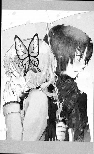 Tags: Anime, Taguchi Shouichi, Boku wa Tomodachi ga Sukunai, Mikazuki Yozora, Kashiwazaki Sena, Official Art, Scan, Manga Page, I Don't Have Many Friends