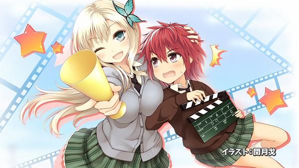 Tags: Anime, Jungetsu Hoko, Boku wa Tomodachi ga Sukunai, Yusa Aoi, Kashiwazaki Sena, Boku wa Tomodachi ga Sukunai - End Cards, Wallpaper, HD Wallpaper, End Cards, I Don't Have Many Friends