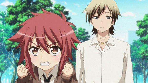 Tags: Anime, Boku wa Tomodachi ga Sukunai, Yusa Aoi, Hasegawa Kodaka, Wallpaper, Screenshot, I Don't Have Many Friends