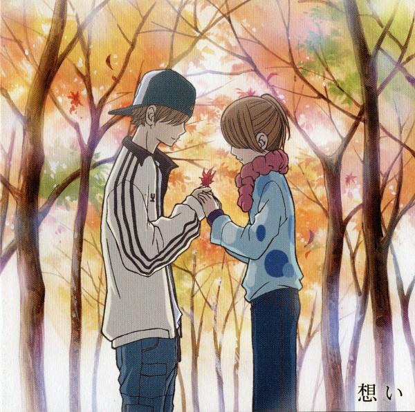 Tags: Anime, Yuuki Obata, Bokura ga Ita, Nanami Takahashi, Motoharu Yano, CD (Source), Scan, Official Art