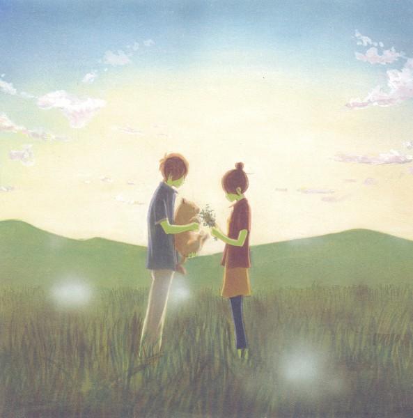 Tags: Anime, Yuuki Obata, Bokura ga Ita, Nanami Takahashi, Motoharu Yano, Official Art