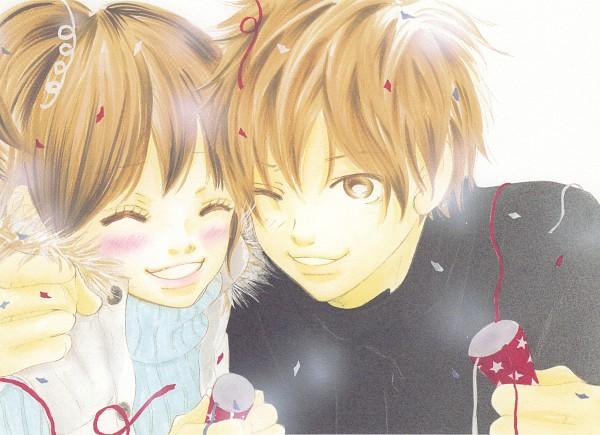 Tags: Anime, Yuuki Obata, Bokura ga Ita, Nanami Takahashi, Motoharu Yano, Official Art, Manga Color, Scan
