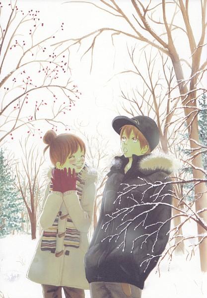 Tags: Anime, Yuuki Obata, Bokura ga Ita, Nanami Takahashi, Motoharu Yano, Mobile Wallpaper