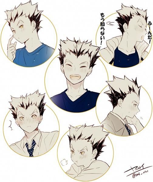 Tags: Anime, Yasai Getsu, Haikyuu!!, Bokuto Koutarou, Fanart From Pixiv, Pixiv, Fanart