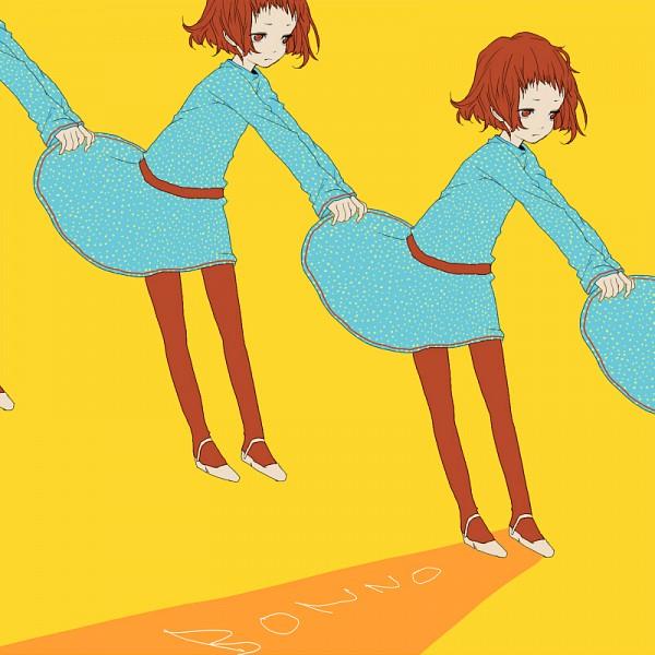 Tags: Anime, Bonno, Weird, Pulling, Pixiv, Original
