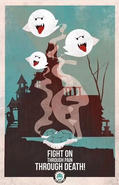 Boo - Super Mario Bros.