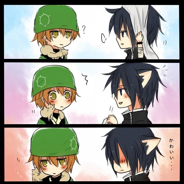 Tags: Anime, Pixiv Id 1752984, Brave 10, Kirigakure Saizou, Sarutobi Sasuke (Brave 10)