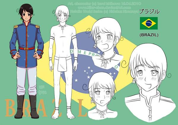 Tags: Anime, Axis Powers: Hetalia, Fan Character, Brazil, deviantART