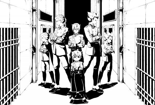 Tags: Anime, Level-5, Inazuma Eleven, Endou Mamoru, Kidou Yuuto, Gouenji Shuuya, Break Team