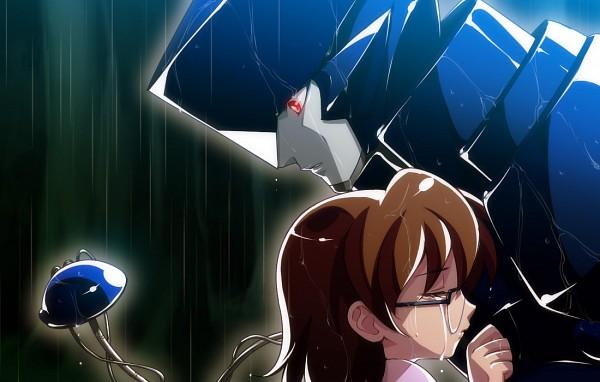 Tags: Anime, Tetsukuzu Tetsuko, Brigadoon, Melan Blue, Marin Asagi, Fanart, Pixiv