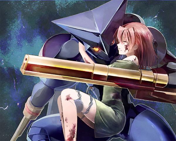 Tags: Anime, Ktynkd, Brigadoon, Marin Asagi, Melan Blue, Alien, Pixiv, Fanart