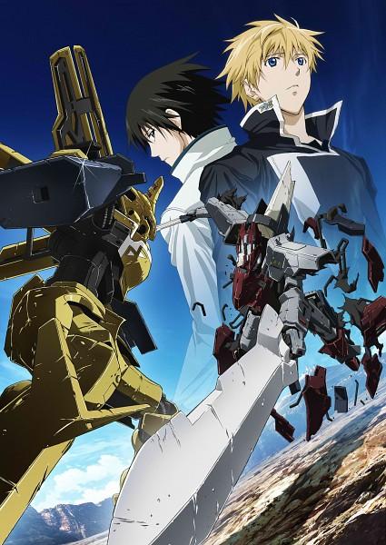 Tags: Anime, Xebec, Broken Blade, Rygart Arrow, Zess (Broken Blade), Artist Request, Scan