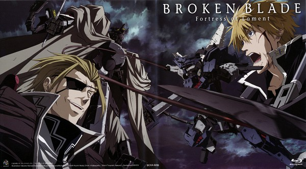 Tags: Anime, Production I.G., Xebec, Broken Blade, Rygart Arrow, Wallpaper, Artist Request, Scan, Official Art, DVD (Source)