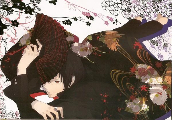 Tags: Anime, ryugo, DURARARA!!, Bumblebee - Hummel Color Illustrations, Orihara Izaya, Scan