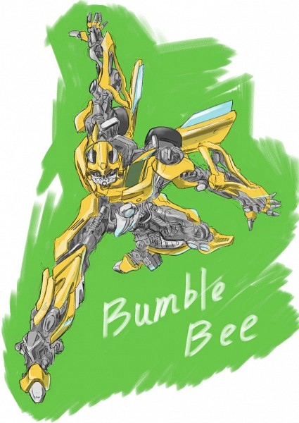 Tags: Anime, Transformers, Bumblebee, Pixiv, Autobots