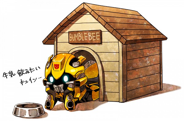 Tags: Anime, Transformers, Bumblebee, Dog House, Pixiv