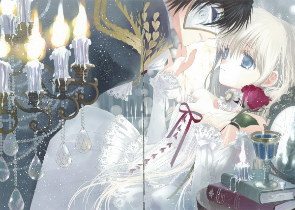 Bungaku Shoujo Fantasy Art Book - Bungaku Shoujo
