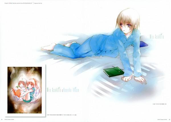 Tags: Anime, Takeoka Miho, Bungaku Shoujo, Bungaku Shoujo Fantasy Art Book, Inoue Konoha, Asakura Miu, Amano Touko