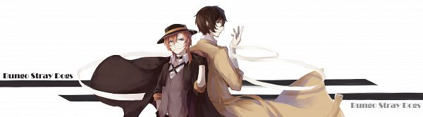 Tags: Anime, Pixiv Id 11307589, Bungou Stray Dogs, Nakahara Chuuya (Bungou Stray Dogs), Dazai Osamu, Pixiv, Fanart, Fanart From Pixiv