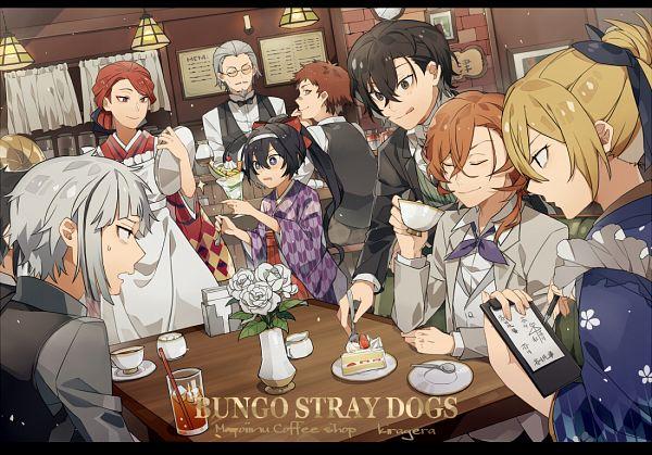 Tags: Anime, Kiragera, Bungou Stray Dogs, Nakahara Chuuya (Bungou Stray Dogs), Nakajima Atsushi (Bungou Stray Dogs), Higuchi Ichiyou, Tachihara Michizou (Bungou Stray Dogs), Izumi Kyouka (Bungou Stray Dogs), Hirotsu Ryuurou, Akutagawa Ryuunosuke (Bungou Stray Dogs), Ozaki Kouyou (Bungou Stray Dogs), Dazai Osamu