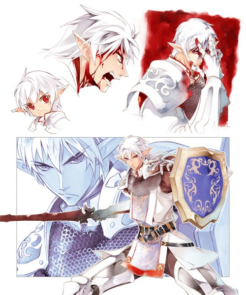 Tags: Anime, Sumi Keiichi, SQUARE ENIX, Final Fantasy XI, Elvaan, Buront