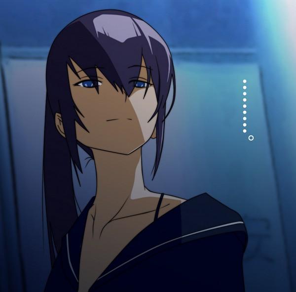 Tags: Anime, Gakuen Mokushiroku: HIGHSCHOOL OF THE DEAD, Busujima Saeko, Vector