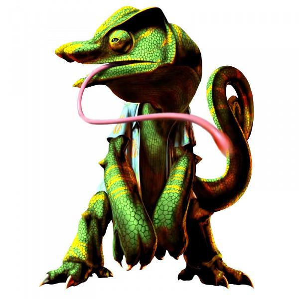 Busuzima The Chameleon - Bloody Roar