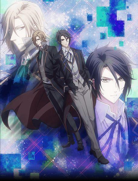 Tags: Anime, Satou Akiko, Silver Link, Butlers: Chitose Momotose Monogatari, Hayakawa Tsubasa, Jinguuji Kouma, Official Art