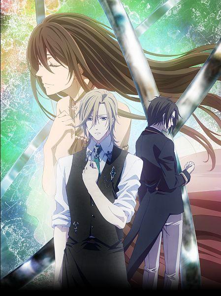 Tags: Anime, Satou Akiko, Silver Link, Butlers: Chitose Momotose Monogatari, Jinguuji Kouma, Kisaragi Tenna, Hayakawa Tsubasa, Official Art