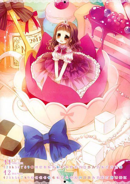CHRONOLOG Calendar 2013 - Higanbana no Saku Yoru ni