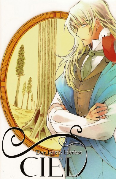 Tags: Anime, CIEL: The Last Autumn Story, Cockatoo, Parrot, Scan, Official Art, Manga Cover