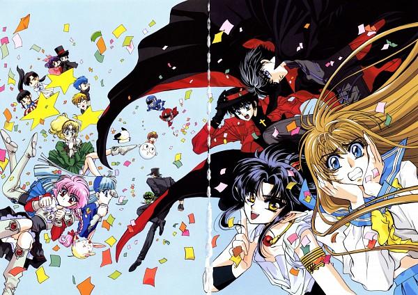 Tags: Anime, CLAMP, Duklyon: CLAMP School Defenders, X, 20 Mensho ni Onegai!!, Fushigi no Kuni no Miyuki-chan, CLAMP School Detectives, RG Veda, Legend of Chun Hyang, CLAMP in Wonderland, Magic Knight Rayearth, Imonoyama Nokoru, Hououji Fuu