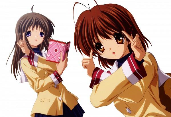 Tags: Anime, KEY (Studio), CLANNAD, Miyazawa Yukine, Furukawa Nagisa, Extraction