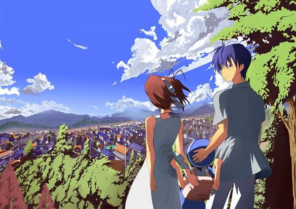 Tags: Anime, Kemu (Pixiv 463430), KEY (Studio), Clannad: After Story, CLANNAD, Furukawa Nagisa, Okazaki Ushio, Okazaki Tomoya, Pixiv, Fanart
