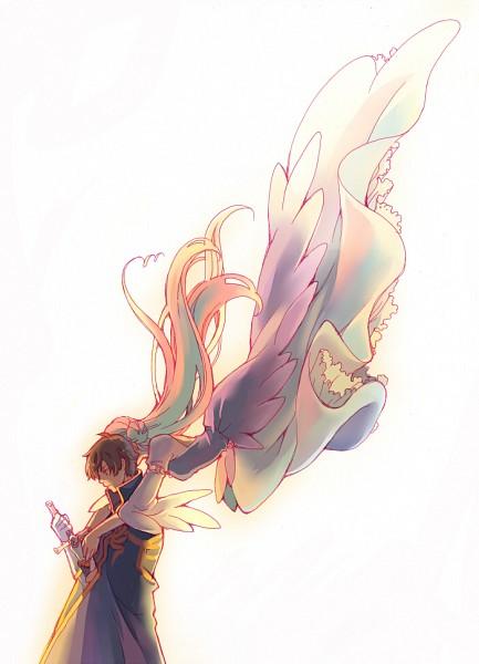 Tags: Anime, 1020g, CODE GEASS: Hangyaku no Lelouch, Euphemia li Britannia, Kururugi Suzaku, Pixiv, Mobile Wallpaper, Fanart From Pixiv, Fanart, Code Geass: Lelouch Of The Rebellion