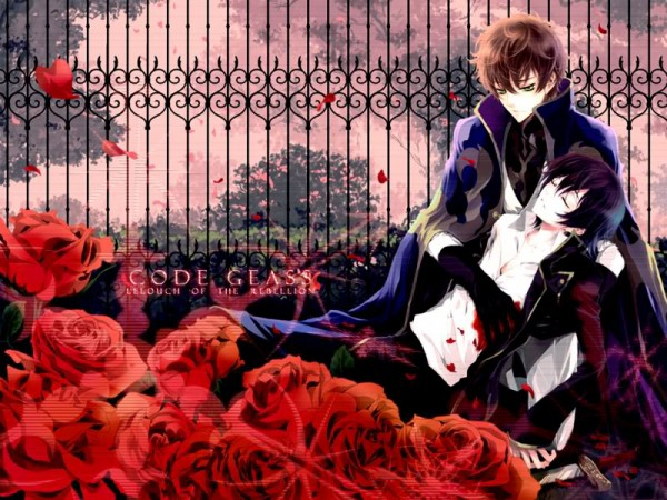 Tags: Anime, Fylus, CODE GEASS: Hangyaku no Lelouch, Lelouch Lamperouge, Kururugi Suzaku, Edited, Fanmade Wallpaper, Suzalulu, Code Geass: Lelouch Of The Rebellion