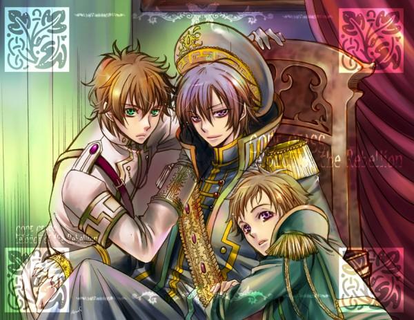 Tags: Anime, CODE GEASS: Hangyaku no Lelouch R2, CODE GEASS: Hangyaku no Lelouch, Lelouch Lamperouge, Kururugi Suzaku, Rolo Lamperouge, Code Geass: Lelouch Of The Rebellion