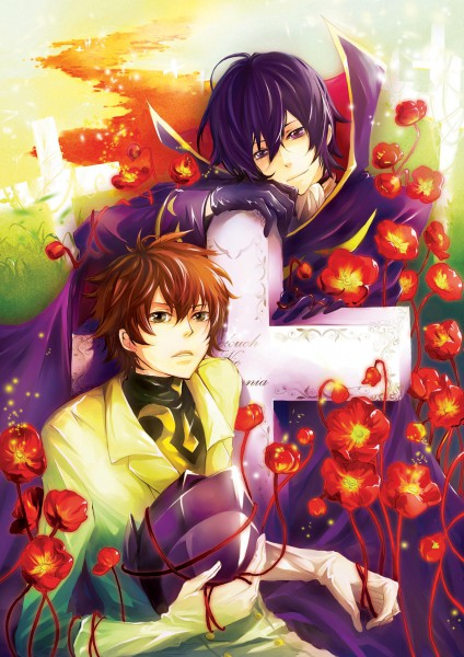Tags: Anime, Astro-g, CODE GEASS: Hangyaku no Lelouch, Zero (CODE GEASS), Lelouch Lamperouge, Kururugi Suzaku, Grave, deviantART, Fanart, Code Geass: Lelouch Of The Rebellion