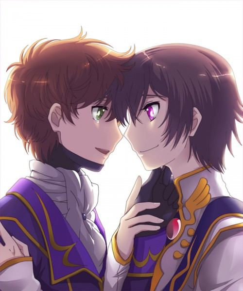 Tags: Anime, CODE GEASS: Hangyaku no Lelouch, Zero2, Lelouch Lamperouge, Kururugi Suzaku, Artist Request, Fanart, Suzalulu, Code Geass: Lelouch Of The Rebellion