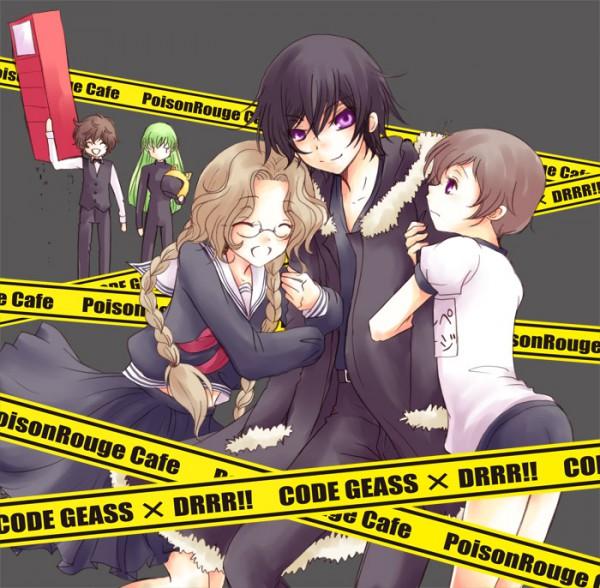 Tags: Anime, Pixiv Id 73741, CODE GEASS: Hangyaku no Lelouch, CODE GEASS: Hangyaku no Lelouch R2, Lelouch Lamperouge, Orihara Mairu, Nunnally Lamperouge, Heiwajima Shizuo, Kururugi Suzaku, Orihara Izaya, C.C., Sturluson Celty, Rolo Lamperouge, Code Geass: Lelouch Of The Rebellion