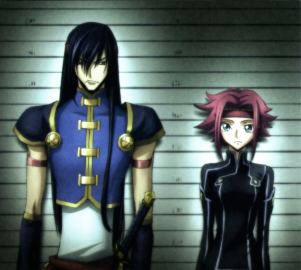 Tags: Anime, CODE GEASS: Hangyaku no Lelouch, Li Xingke, Kallen Stadtfeld, Code Geass: Lelouch Of The Rebellion
